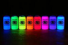 8x 250ml Ultra Bright Artists' UV Paint Fluorescent Ultraviolet Blacklight Neon