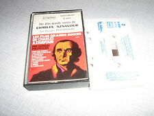 GEORGES POLOSCHIAN K7 AUDIO FRANCE CHARLES AZNAVOUR