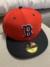 New Era 59Fifty Boston Red Sox Spring Training Hat 7 1/8 Red