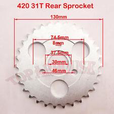 420 31 Zahn 30mm Hinten Kettenrad Für HONDA Z50A Z50 Z50R Z50J Monkey Bike