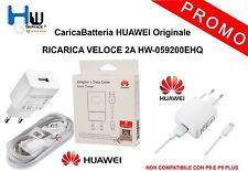 CaricaBatteria HUAWEI Originale RICARICA VELOCE 2A HW-0592200EHQ P9 LITE