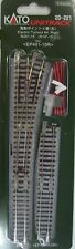 KATO N SCALE 20-221 R481 15 deg  ELECTRIC RIGHT TURNOUT  TRACK   pack