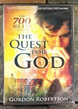 The Quest For God (DVD) Gordon Robertson 700 Club Christian Broadcasting Network