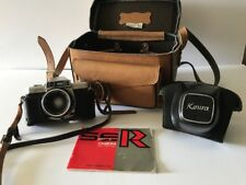 Kowa SER 35mm camera w/ 50mm F2 lens -leather case
