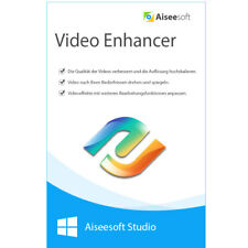 Video Enhancer Aiseesoft Studio WIN dt.Vollver. 1 Jahr Lizenz Download 12,99 !