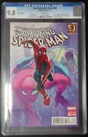 Amazing Spider-Man #698 Marvel Comics CGC 9.8 White Pages Pasqual Ferry Variant