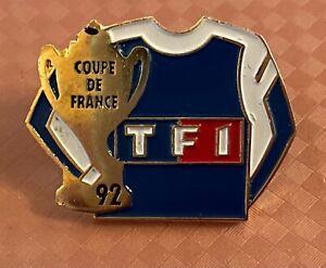 SOCCER / FOOTBALL - COUPE DE FRANCE 1992 PIN