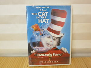 Dr. Seuss' The Cat In The Hat (Widescreen Edition) [DVD, NEW] FREE SHIPPING