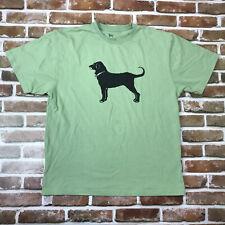 2019 The Black Dog Martha's Vineyard T Shirt Men's Medium Cape Cod Tee Green