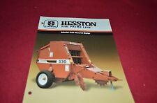 Hesston 530 Round Baler Dealer's Brochure DCPA2