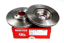 MINTEX FRONT REAR DISCS AND PADS FOR FIAT BRAVO 1.4 2007-10