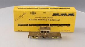 Suydam HO Brass Flat Bed Work Motor/Box