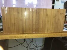 SONGMICS 3-Tier Bamboo Wood Shoe Rack Bench, Shoe Organizer,Storage Shelf Holds