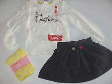 Gymboree Merry and Bright Girls Size 3 4 Cute Top Shirt Leggings Skirt  NWT