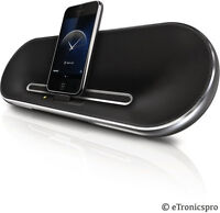Philips DS7550 Fidelio Rechargeable Portable Docking Speaker for iPod/iPhone