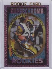 JEROME BETTIS SuperChrome RC Football 1993 ROOKIE CARD Wild Card STEELERS