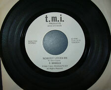 "RARE F MODELS - NOBODY LOVES ME/RUSSIA ROCKS 7"" 1981 OHIO PUNK KBD"