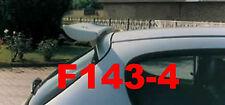 SPOILER ALETTONE PEUGEOT 206 REGOLABILE  IN POLIDUR CON PRIMER  F143-4P