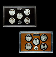 2011 S America the Beautiful National Parks ~ Silver Proof Set in Lens Case