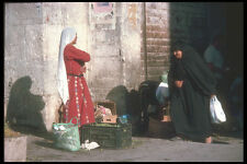 260074 Bedouin Woman Going To Market Syria Damascus A4 Photo Print