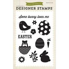 """Echo Park """"Some Bunny Loves Me"""" Clear Stamps! Easter"""