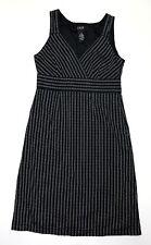 FYLO by Nylon Women's Size 12 Black Empire Waist Sheath Dress Sleeveless GUC