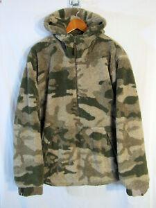 MINT! Cabela's Men's XL Camo Berber Fleece Hooded Hunting Pullover windshear