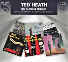 TED HEATH - 6 CLASSIC ALBUMS  (NEW SEALED 4CD)
