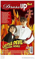 CARNEVALE WIDMANN SET DIAVOLETTO UNISEX DRESS UP SET LITTLE DEVIL  ART 2582D