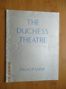 1940 THE DUCHESS THEATRE BEYOND COMPERE PROGRAMME RONALD FRANKAU TED RAY