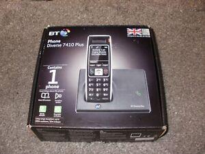 NEW Boxed  BT Diverse 7410 Plus DECT Cordless Phone Black