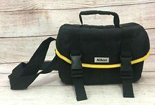 Nikon Camera & Accessory Soft Carry Case DSLR SLR Bag Divider & Shoulder Strap