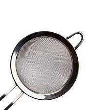 """HOT 8"""" Kitchen Stainless Steel Fine Mesh Strainer Colander Sieve Sifter Flour"""