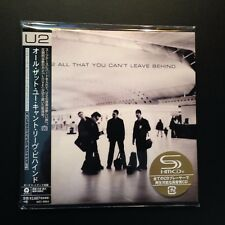 All That You Can't Leave Behind by U2 (SHM-CD, 2017, Mini-LP, LTD, Japan)