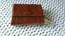 Fossil Ellis Leather Multifunction Wallet *Brown*-Nwt's
