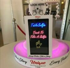 Magic mirror table selfie pods photobooth photo booth