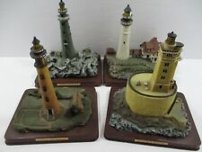 Oneida Studios Lighthouse Point Collection St George Reef - Lot Of 4 Lighthouses