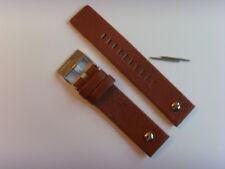 DIESEL Original Ersatzband Lederarmband DZ7309 Uhrband braun watch strap 22 mm