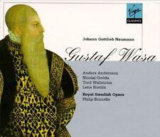 ██ OPER ║ Johann Gottlieb Naumann (*1741) ║ GUSTAF WASA ║ 2CD