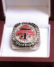 2017 MLS CUP TORONTO FC SOCCER CHAMPIONSHIP RING SIZE 12 W/WOOD DISPLAY BOX