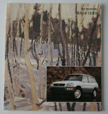 TOYOTA RAV4 1999 dealer brochure - English - Canada ST1002000218
