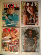 LOT of 12 ISSUES JAN - DEC 2015 VOGUE Magazine MINT *FACTORY SEALED*