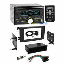 Pioneer CD USB Bluetooth Car Stereo Dash Kit Harness for 2008-2010 Smart Fortwo
