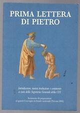 PRIMA LETTERA DI PIETRO ed. San Paolo 2005