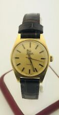 Omega Geneve Classic Automatic Watch Gold Plated Case