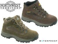 Northwest Territory Hiking Boots Mens Terrain 2 Waterproof Walking Shoes 7 - 12