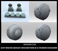 MINIARM, 1/35, B35077, Infra-red searchlight (device night vision) OU-3G