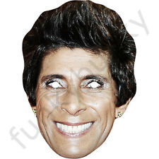 Fatima Whitbread Olympic Athlete Celebrity Sports Card Mask - All Masks Pre-Cut