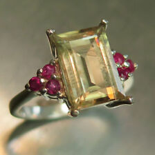 Ruby White Gold Fine Rings
