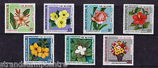Francia (Wallis & Futuna) - 1973 Flores-U/M-SG 226-32